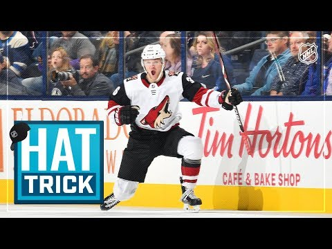 Christian Fischer leads Yotes with first hatty