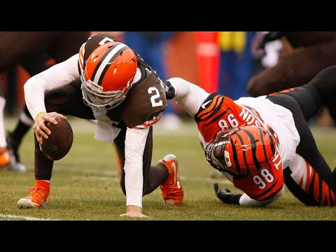 Johnny Manziel gets his first start | Bengals vs Browns W15 2014
