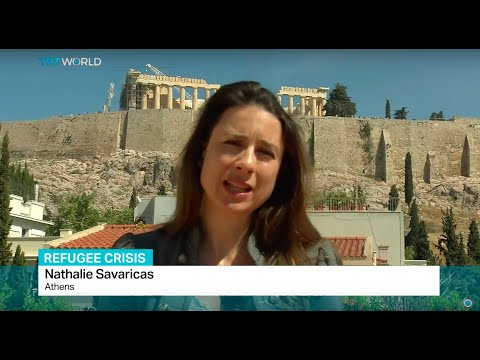 Interview with Nathalie Savaricas about Amnesty report on conditions of refugees in Greece