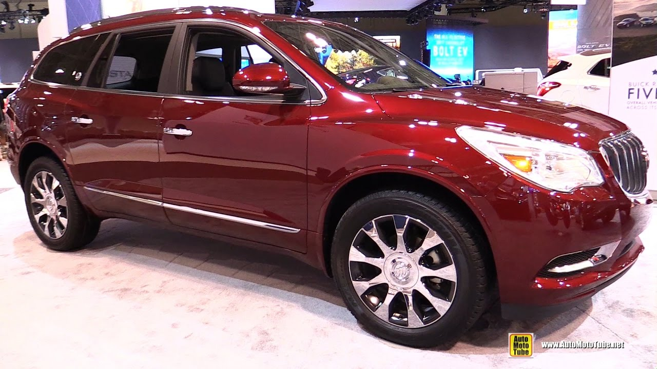 2017 Buick Enclave Premium AWD - Exterior and Interior Walkaround - 2017 Toronto Auto Show - YouTube