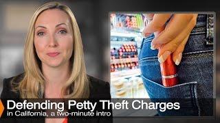 Former Prosecutor Explains Petty Theft - Penal Code 484, 488