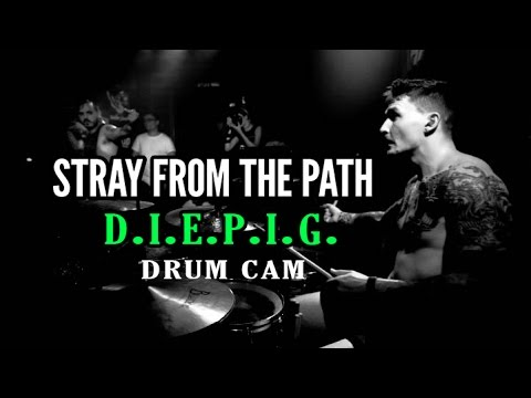 Stray From The Path | D.I.E.P.I.G. | Drum Cam (LIVE)