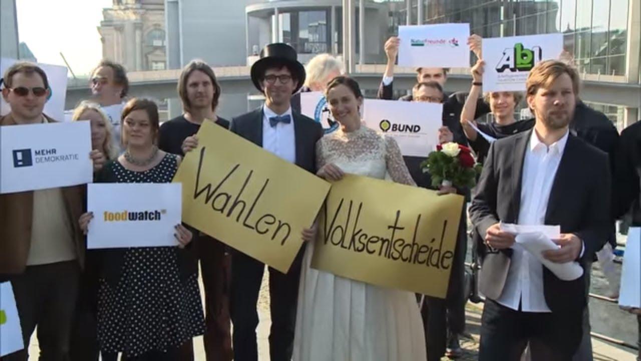 Bündnis für direkte Demokratie: NGOs fordert bundesweite Volksentscheide