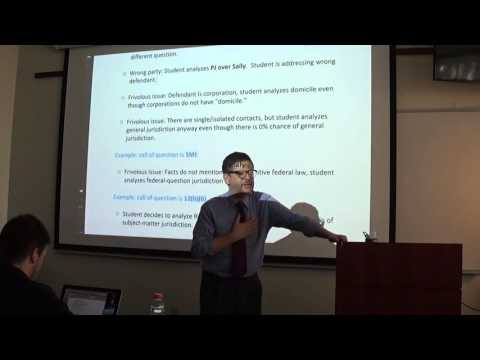 Civil Procedure review, Fall 2015 (Nathenson): Full afternoon review