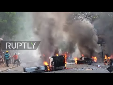 Haiti: Violence erupts as army returns for first time in 22 years