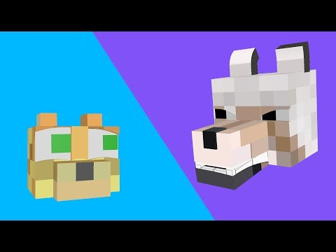 The Adventures of the Wolf and the Ocelot Ep. 2 [Minecraft Animation]
