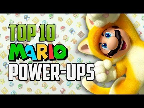 Top 10 Mario Power Ups