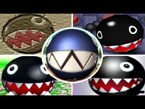 Evolution of Chain Chomp Minigames in Mario Party (1999-2017)