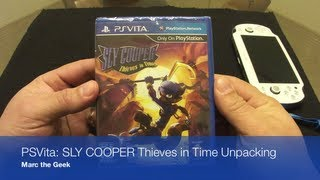 PSVita - SLY COOPER Thieves in Time Unpacking