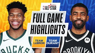 #TeamLeBron vs. #TeamDurant | FULL GAME HIGHLIGHTS | 2021 #NBAAllStar