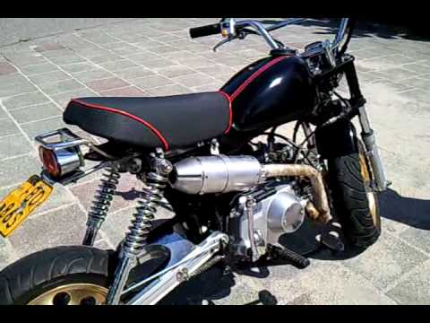 honda monkey 50cc youtube. Black Bedroom Furniture Sets. Home Design Ideas