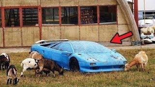 Niesamowite opuszczone pojazdy!