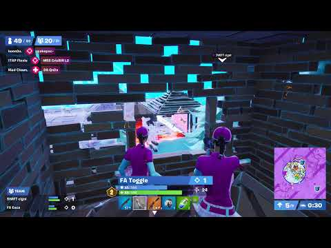 Fortnite Champion Series Season X Finals - Day 1