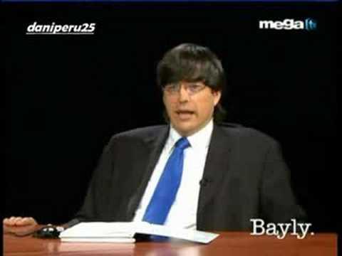 Jaime Bayly, Raul Alarcon y el escandalo Mega TV Parte 1