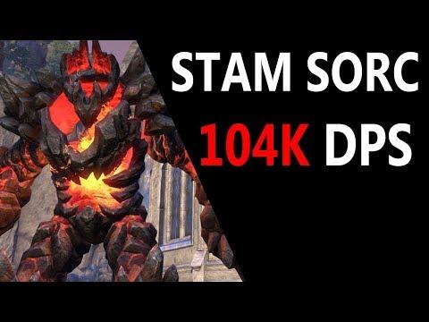 stamina-sorcerer-104k-dps-parse-target-dummy---scalebreaker-eso