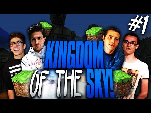 Minecraft | SI INIZIA ALLA GRANDE! Kingdom of the sky! #1 w/Mates