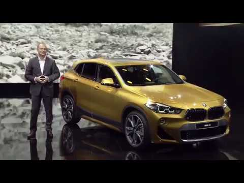 world premiere bmw x2 at 2018 detroit motor show youtube. Black Bedroom Furniture Sets. Home Design Ideas