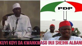 Yan Siyasa Kuyi Koyi Da Kwankwaso Inji Sheikh Albani Zaria