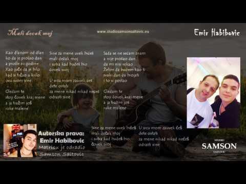 Emir Habibovic - Mali decak moj - Matrica/Karaoke/Instrumental - (Cover) - StudioSamsonSaitovic