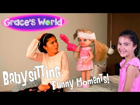 Barbie - Babysitting - Funniest Moments