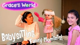 Barbie - Babysitting - Funniest Moments thumbnail
