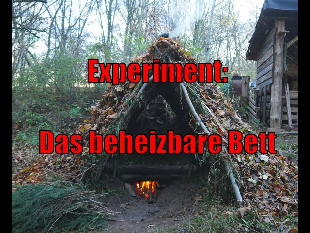 Experiment: Das beheizbare Bett 1/2