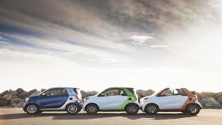 The smart car becomes electric before planning its autonomous future.