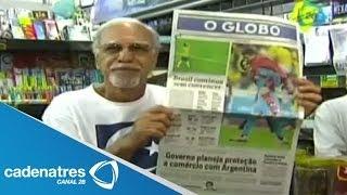 Baixar Periódicos brasileños se hacen eco del empate contra México; destacan atajadas de Memo Ochoa