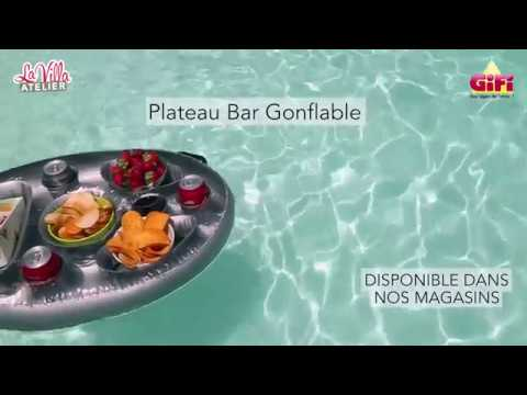 Plateau Bar Gonflable Gifi Youtube