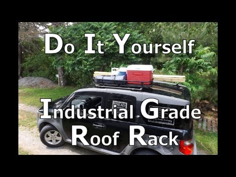 Heavy Duty Modular DIY Roof Rack, Versatile and super easy to make