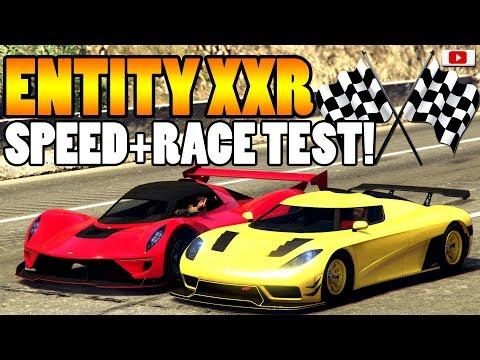 😅🏁DAS Hätte Ich Nie Gedacht! ENTITY XXR Speed + Race Test!🏁😅 [GTA 5 Online Update DLC]