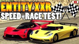 😅�DAS Hätte Ich Nie Gedacht! ENTITY XXR Speed + Race Test!�😅 [GTA 5 Online Update DLC]