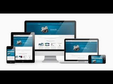 HOW TO CREATE A RESPONSIVE WEBSITE AUTOMATICALLY FITS ANY SCREEN SIZES? VIDEO TRAINING TUTORAIL