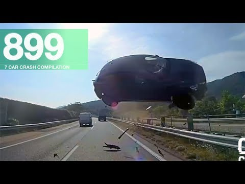 Car Crash Compilation 899 - Jun 2017