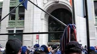 New york GIANTS parade famous chant 18-1