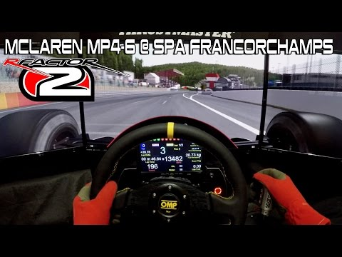 rFactor 2 - McLaren Mp4-6 @ Spa Francorchamps (RF2)