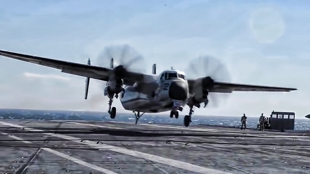 C-2 Greyhound Carrier Based Turboprop • Farewell Old Girl