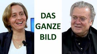 Die großen Herausforderungen im 21. Jahrhundert – Steve Bannon im Gespräch mit Beatrix von Storch