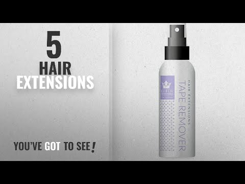 Top 10 Hair Extensions [2018]: Tape Extensions Remover Spray | Perfect for Wigs and Hair Extensions thumbnail