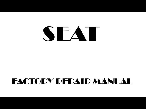 seat ibiza 2002 2003 2004 2005 2006 2007 2008 2009 factory repair rh youtube com Seat Ibiza 2001 Seat Ibiza 1995 Interior