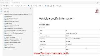 Seat Ibiza 2002 2003 2004 2005 2006 2007 2008 2009 factory repair manual