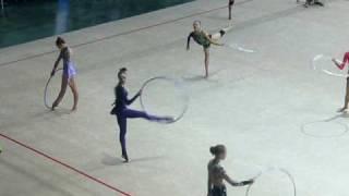 Anna Bessonova hoop training 2