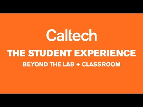 The Caltech Student Experience: Beyond the Lab and Classroom