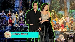 Angelina Jolie stun with Brad Pitt attending CBS Survivor reunion and holding party later
