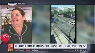 Menor de 13 años dispara al aire durante cortejo fúnebre en el centro de Curicó