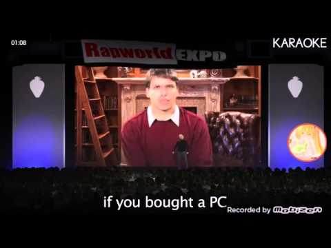 ERB Instumental/Karaoke Bill Gates vs. Steve Jobs