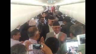 Prime Minister KP Sharma Oli visit to  china