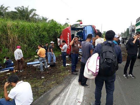 Cinco personas mueren en accidente de tránsito en Santo Domingo