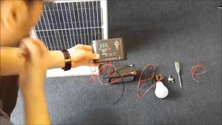 How to build your own stand alone solar power system lighting