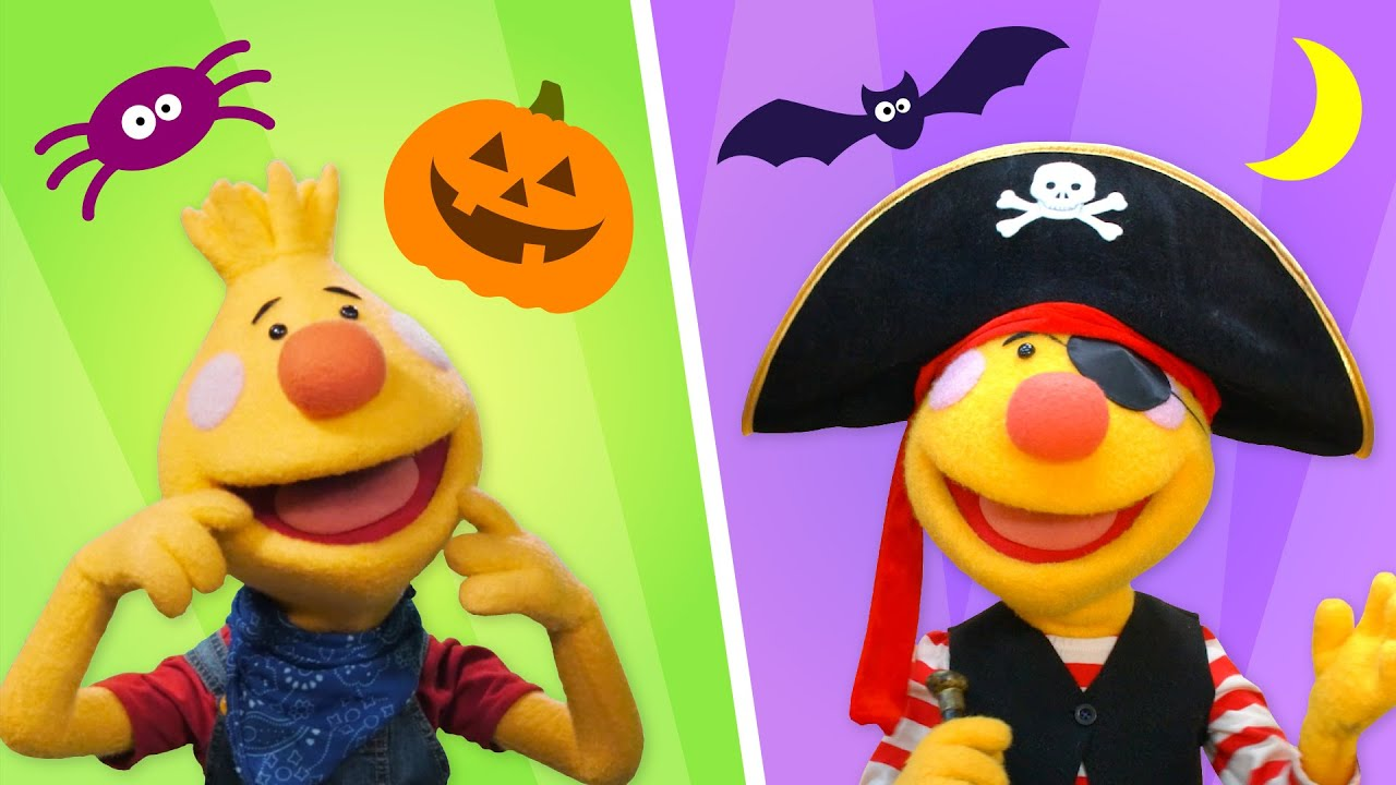 Happy Halloween! | Sing Along With Tobee